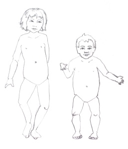 fashion illustration - children