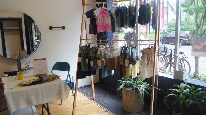 setup for craft fair